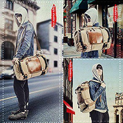 Du 35l Vintage Sac Multifonctionnel Portable À Dos Style Overmont vmONPny0w8