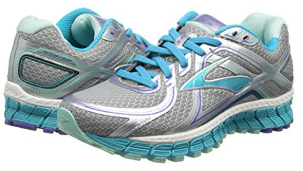 Brooks Womens Adrenaline GTS 16 Silver/Bluebird/Blue Tint-170 Narrow 120203-