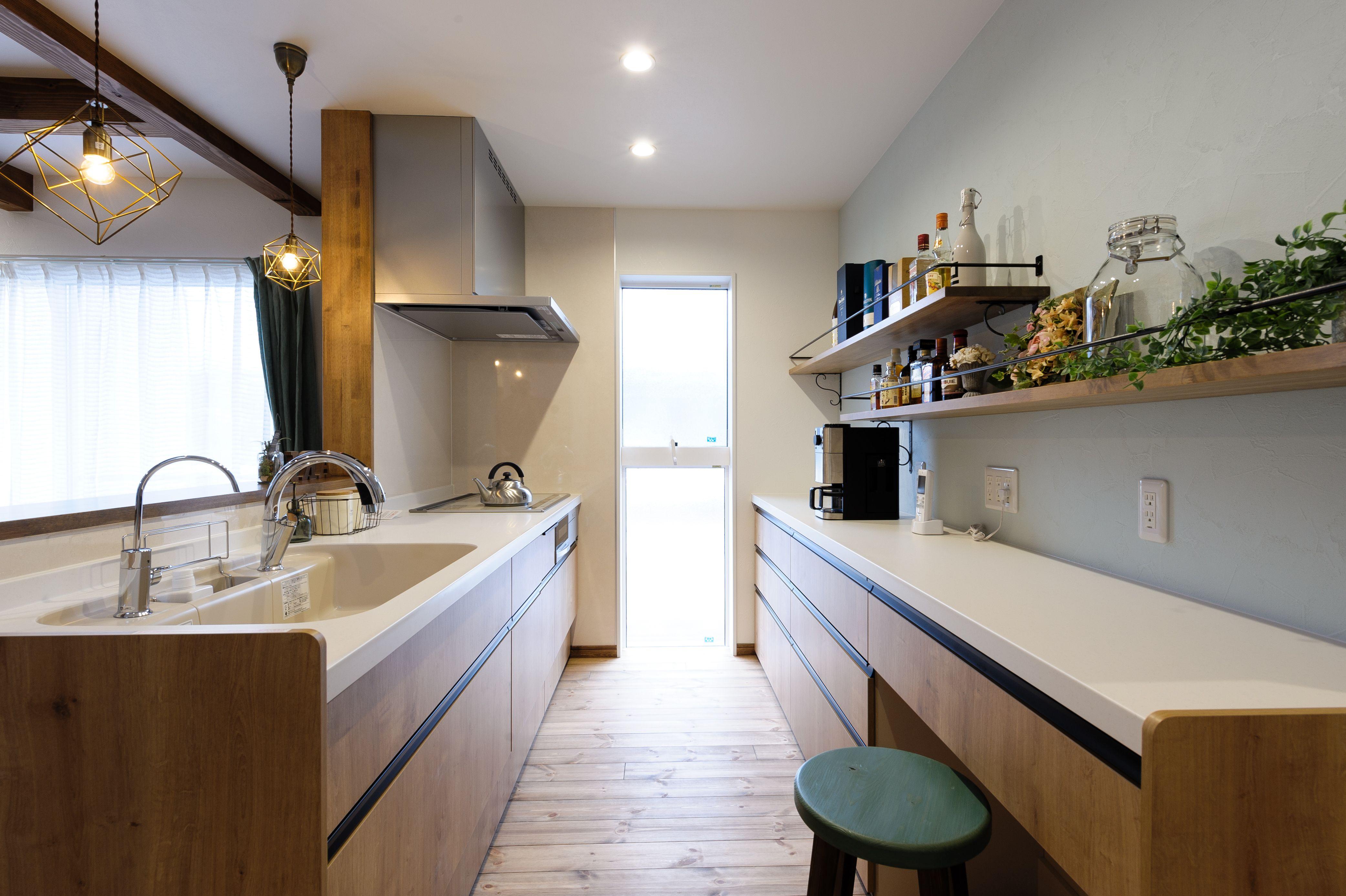 小布施町の注文住宅写真集 収納アイデアが満載 カフェ風の家 家