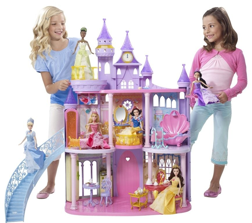 Princess doll house disney princess ultimate dream for Princess housse