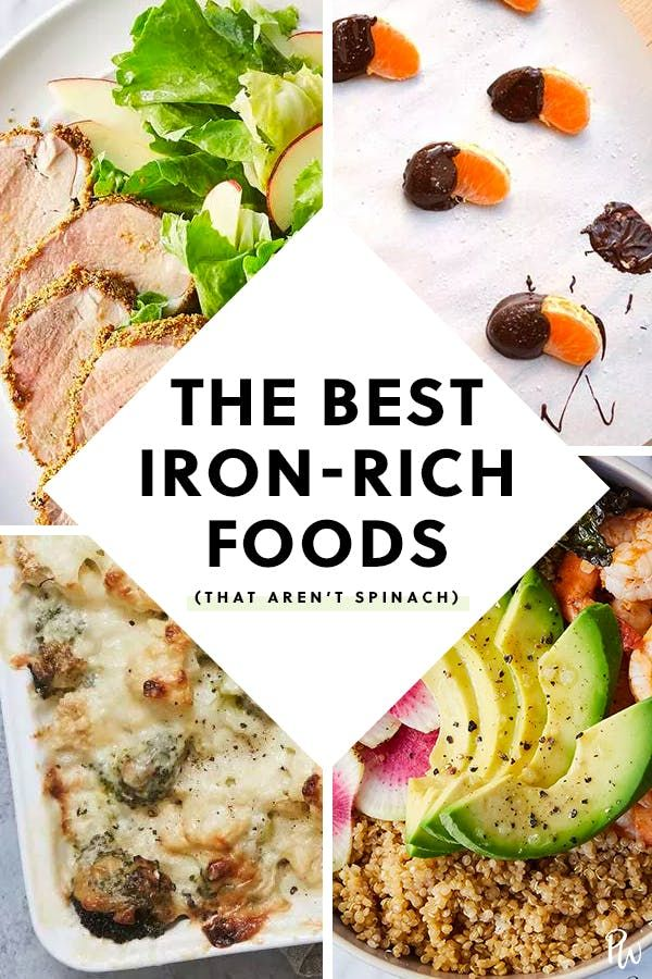 7 of the best sources of iron that aren t spinach feed the brain pinterest