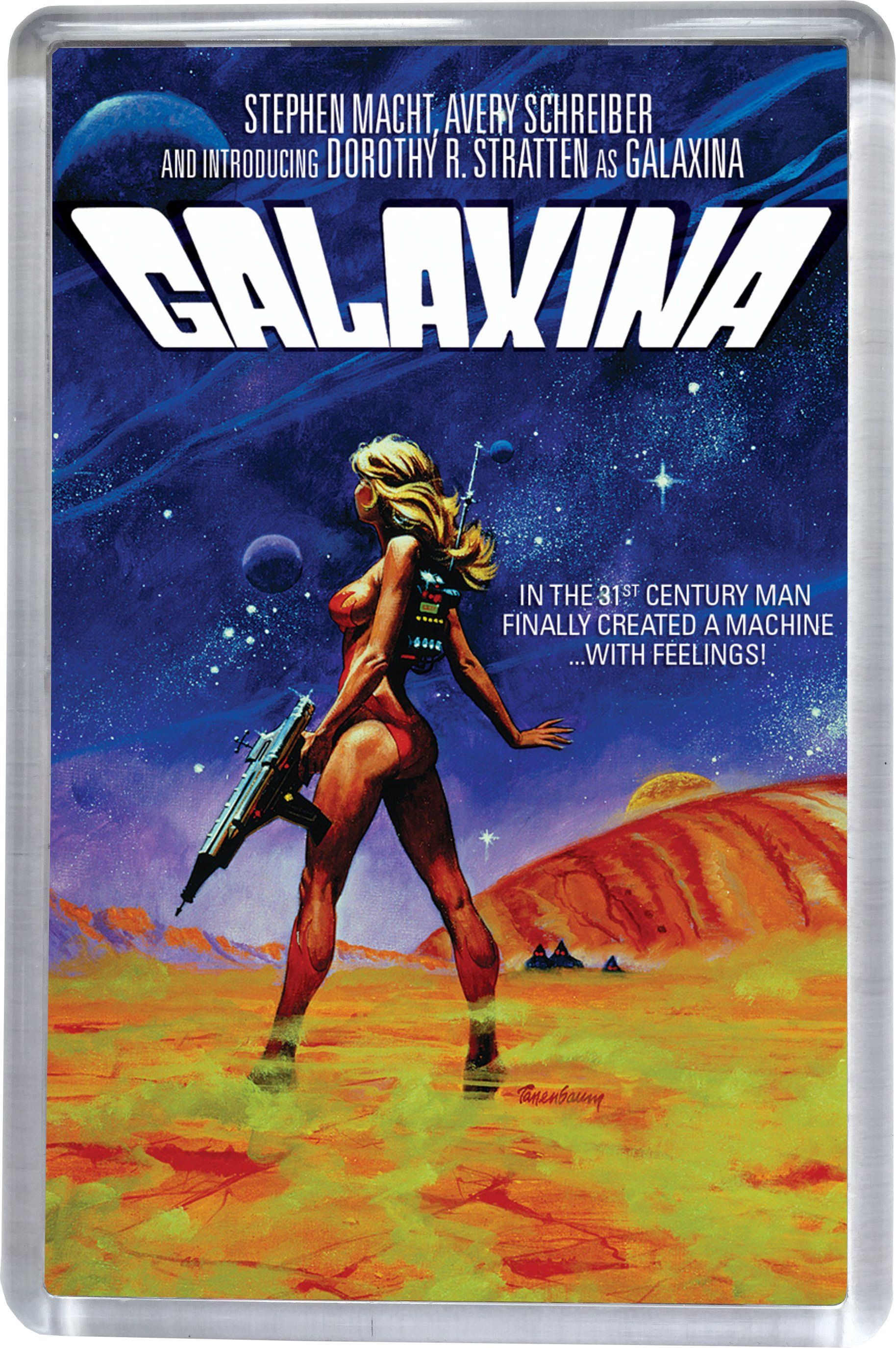 Galaxina Movie Poster Fridge 5CM X 7.5CM Free