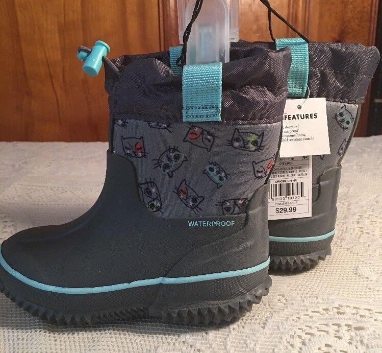 19f102ec8f2 Toddler Girls' Meg Neoprene Winter Boots - Cat & Jack™ - Gray | eBay ...