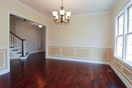Two tone wainscoting