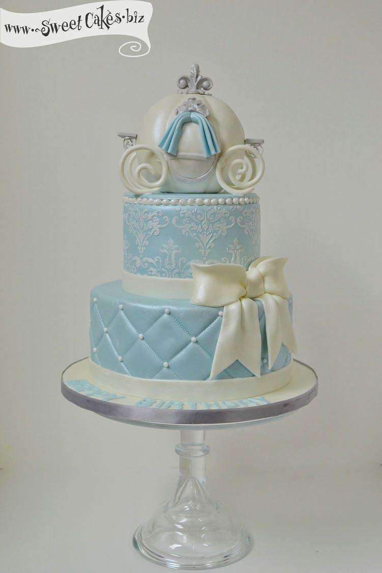 Cinderella Birthday Cake Cakes I Love Pinterest Birthday Cakes