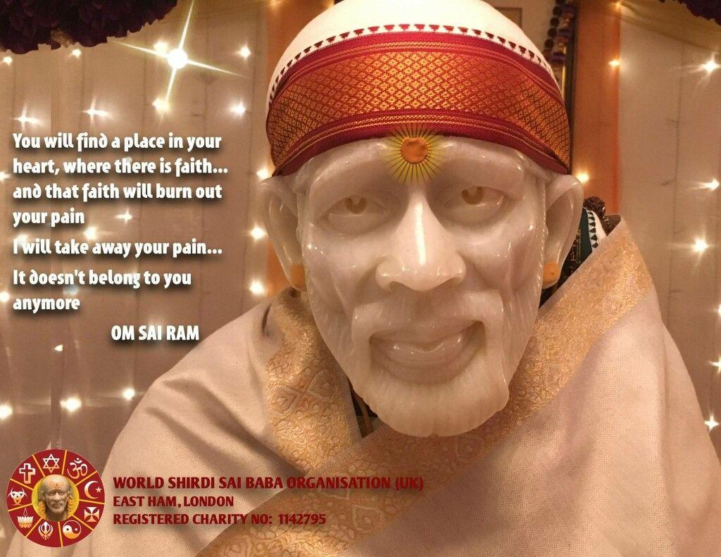 Om Sai Ram x   Shri Sai   Sai baba, Sai baba miracles, Sai ram