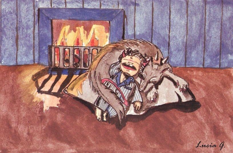 Diablillo y su perro del infierno 2.