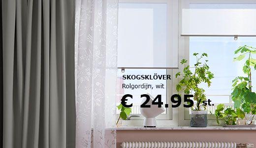Ikea Rolgordijnen Rolgordijnen Verduisterende Rolgordijnen Raamdecoratie
