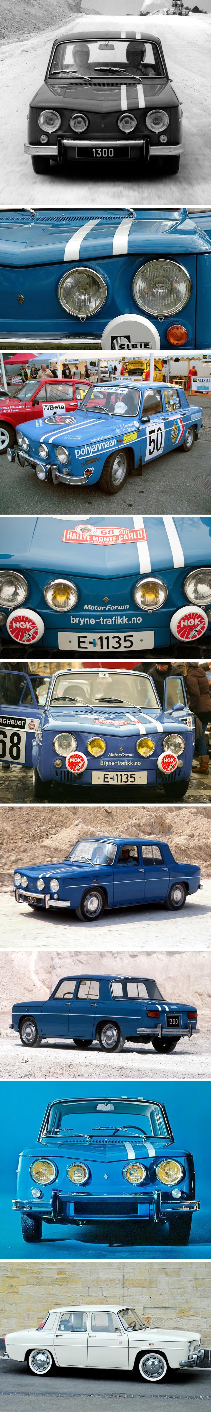 Renault 8 gordini 1964 1970 renault alpine pinterest for Garage renault vincennes