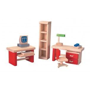 muebles de despacho para casa de muñecas