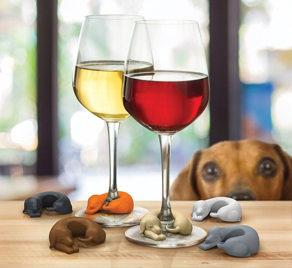 39 Things Every Dog Lover Needs In Their Kitchen Asap Drink Marker Dog Wine Dog Gifts