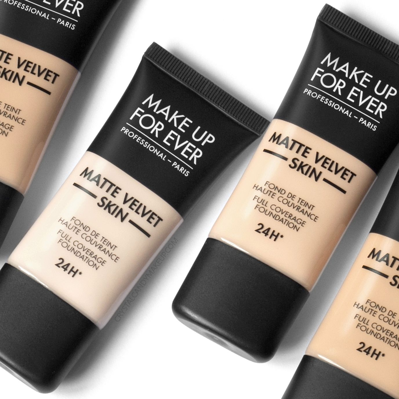 Make Up For Ever's new Matte Velvet Skin Foundation