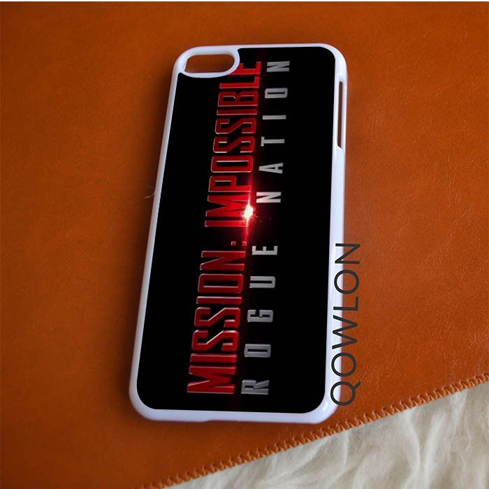 Mission Impossible Rogue Nation Logo iPod Touch 6 | 6TH GEN Case