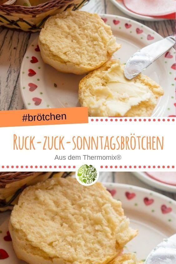 Ruck-Zuck Frühstücks-Brötchen aus dem Thermomix • will-mixen.de