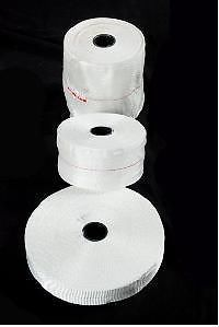 Fiberglass Woven Tape - UNvarnished.  www.electricalinsulations.net