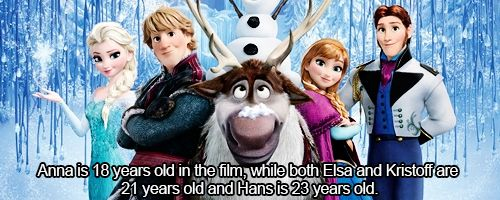 Facts About Frozen - because there is no way I would have survived without knowing this.