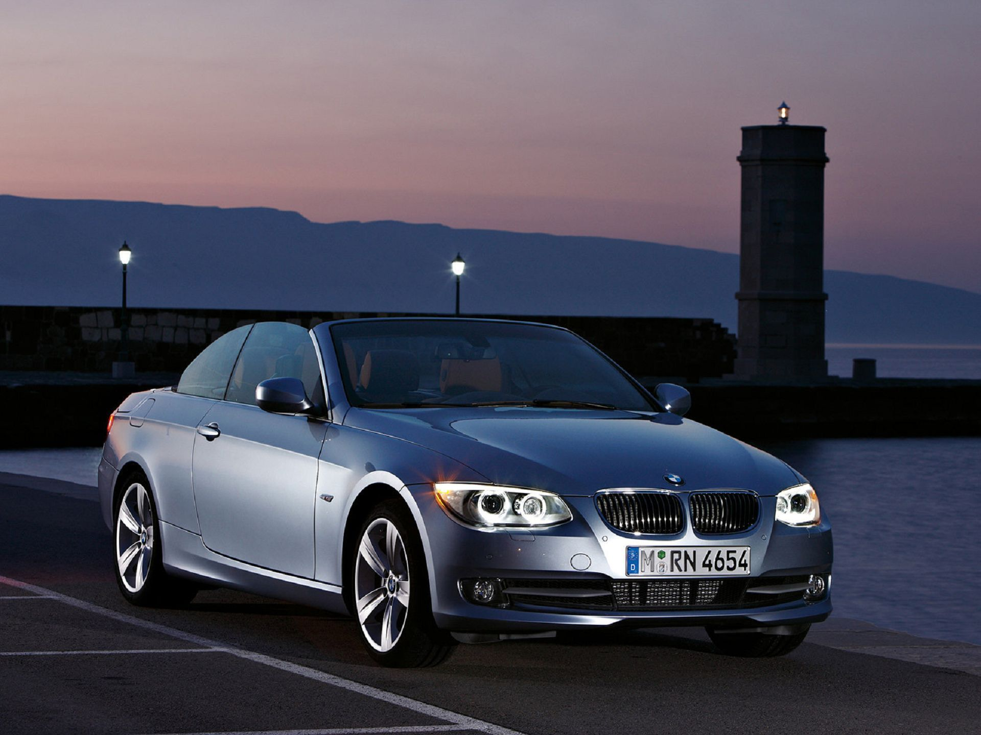 2011 bmw s rie 3 convertible 002 prata cool cars wallpapers