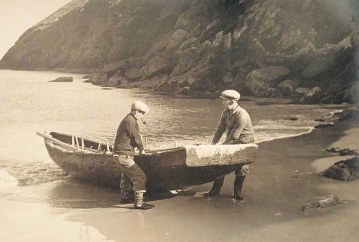 Achill island in times past.