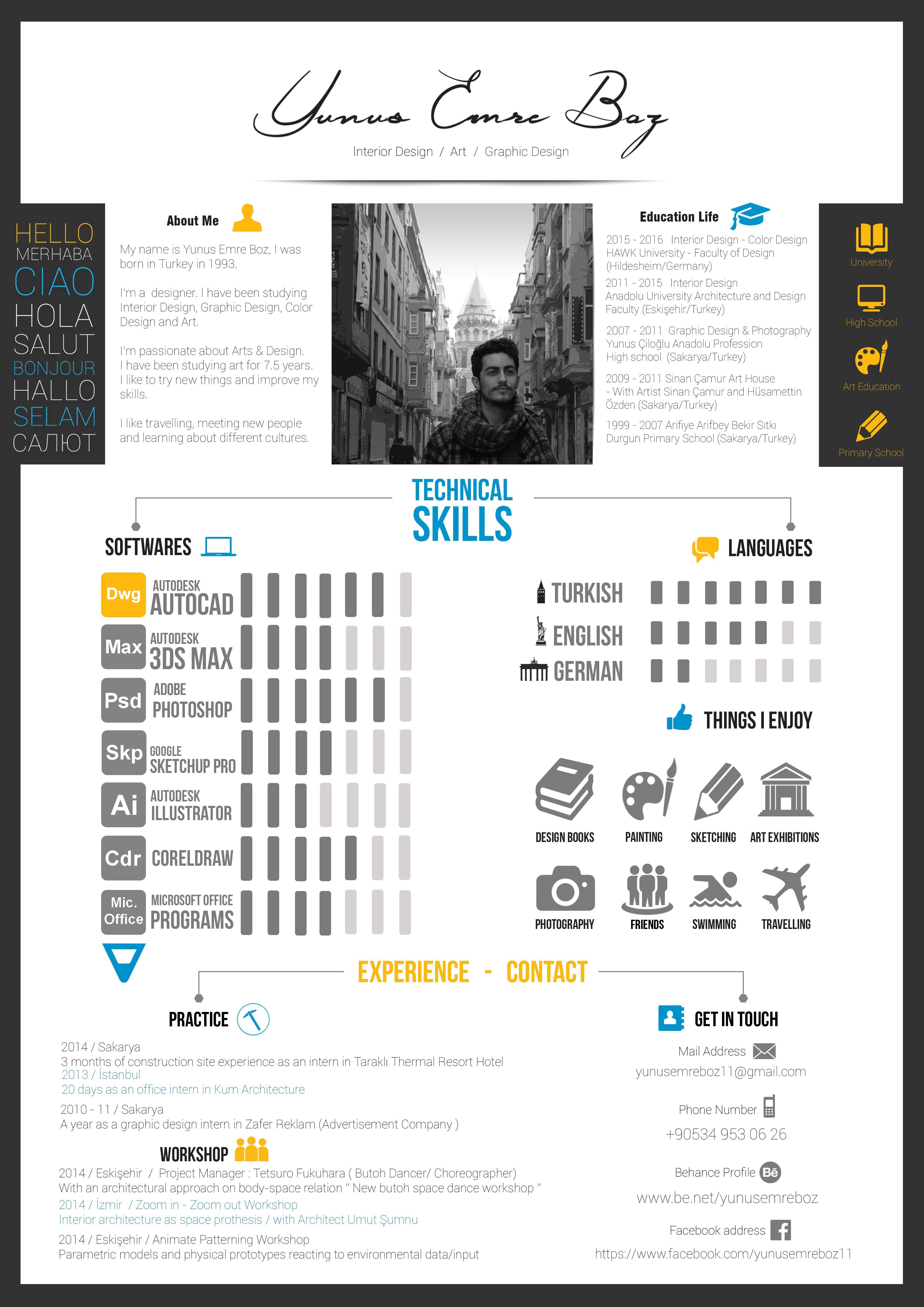 resume My Resume Website resume design my cv check out new work on behance behance