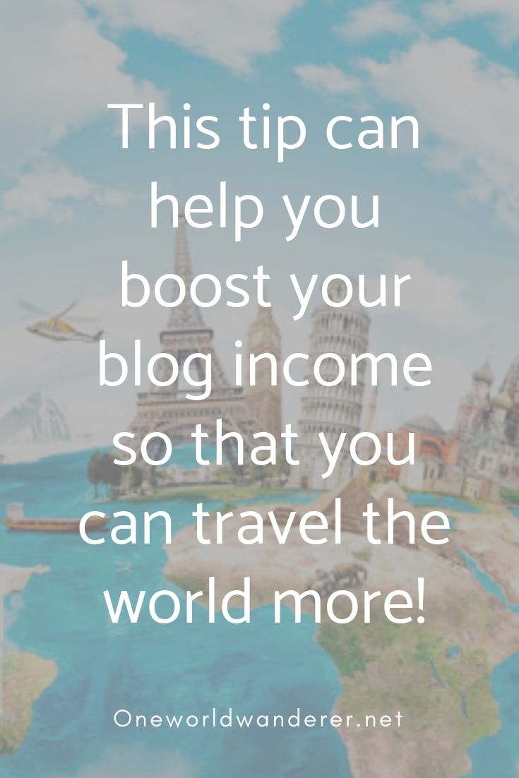 Boost Your Income By Having This Page On Your Blog