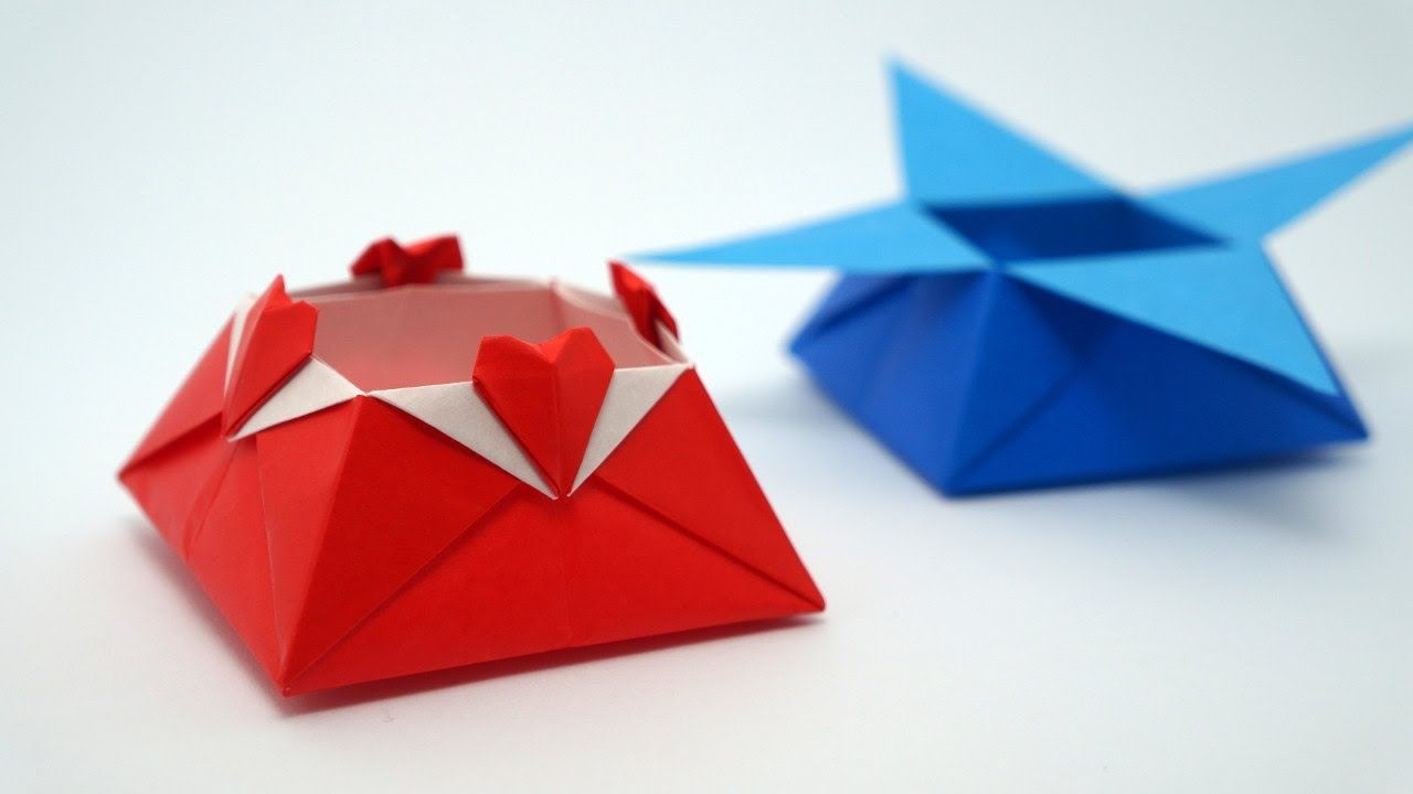 Origami love box jo nakashima origami videos boxes vases origami heart box by jo nakashima floridaeventfo Images