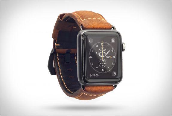 91d44cc4625ea Apple Watch Leather Strap