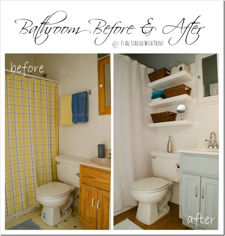Paint Recommended For Bathroom: Blue Grey, Shelving And Kid Bathrooms