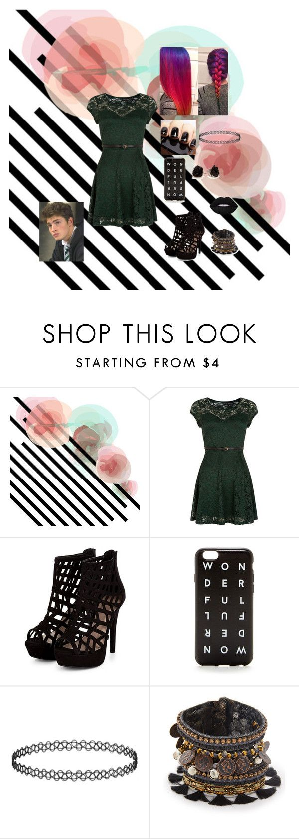 """""""FIRST DATE"""" by ducky0524 ❤ liked on Polyvore featuring Mela Loves London, J.Crew, Deepa Gurnani and Lime Crime"""