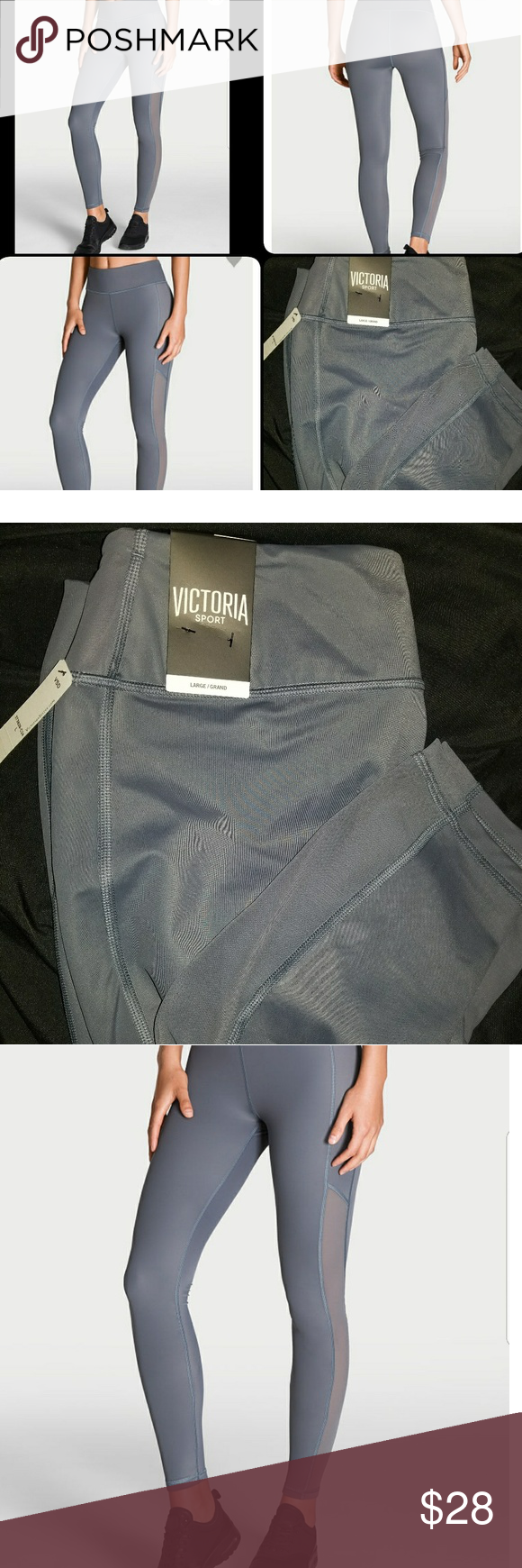 fd3934d5bb806 Victoria Secret Sport Leggings Brand new size large leggings from Victoria  Secret's Victoria Sport