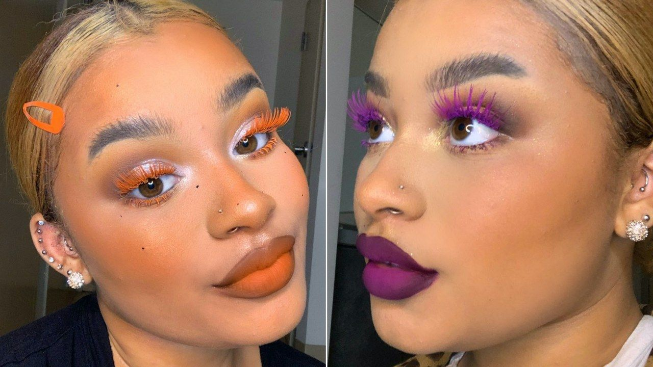 Matching Your Lashes to Your Lipstick Is the Viral New Makeup Trend -   15 makeup Artist lipsticks ideas