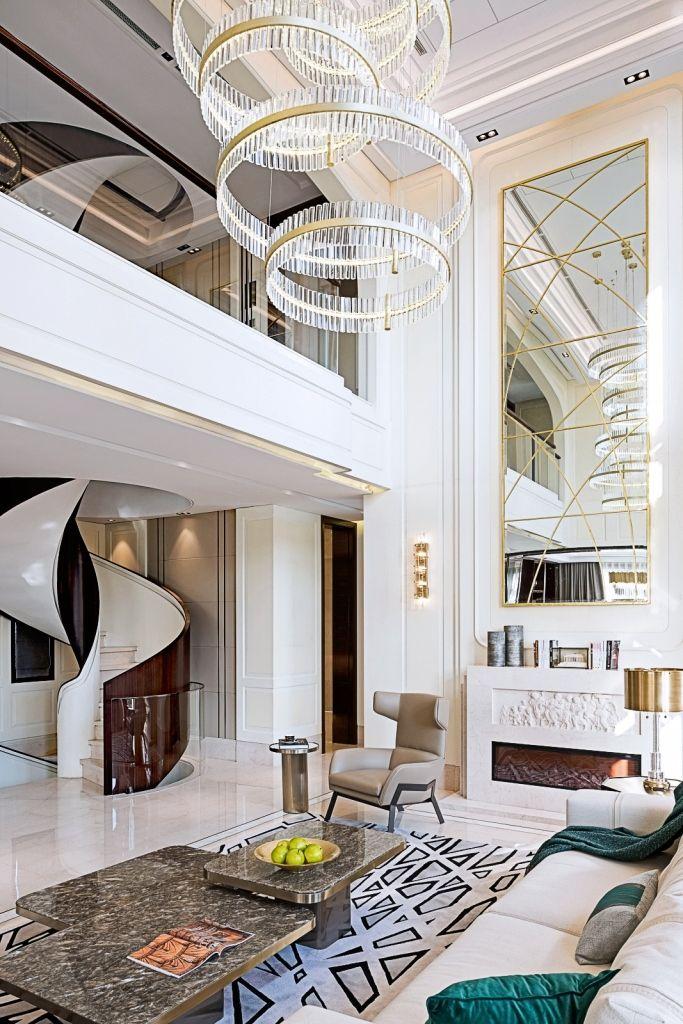 Interior Design Urban House In Shanghai Post Modernism Interior Design Fendi Casa Furniture Luxury Home Decor Luxury Living Room Art Deco Interior Design