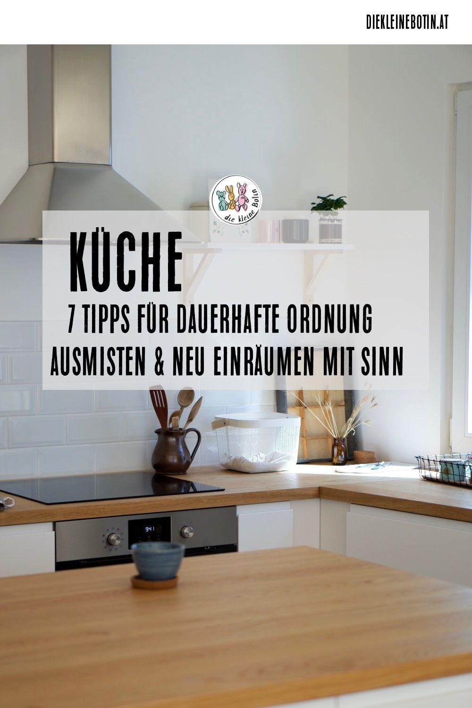 Küche ausmisten  Küche aufbauen, Ordnung in der küche, Küche
