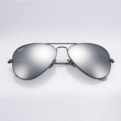 ray ban aviator sunglasses mirror rb3025 silver frame
