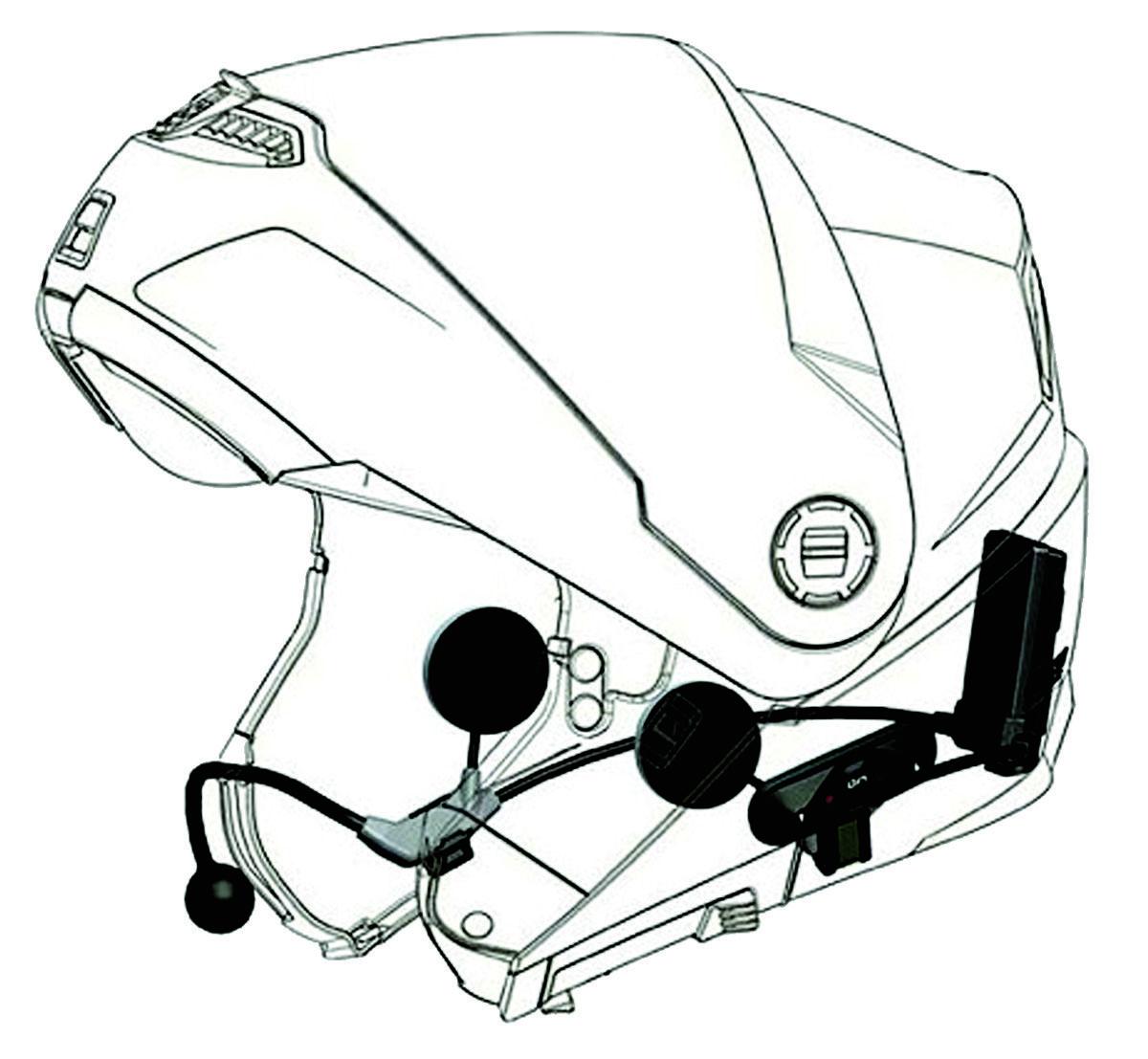Nolan B4 Motorcycle Communication System