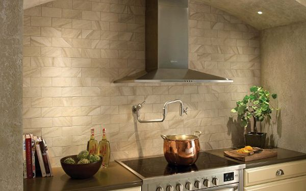 Lovely Kitchen Glass Wall Tiles