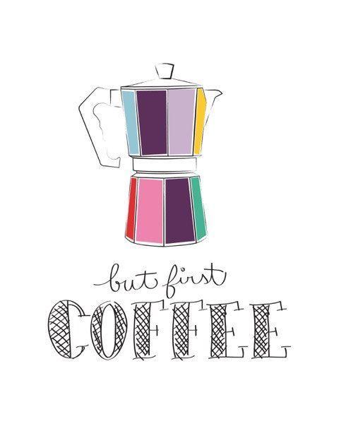 Photo of Items similar to Kitchen art print – Coffee print – Coffee Lover Gift – Kitchen …