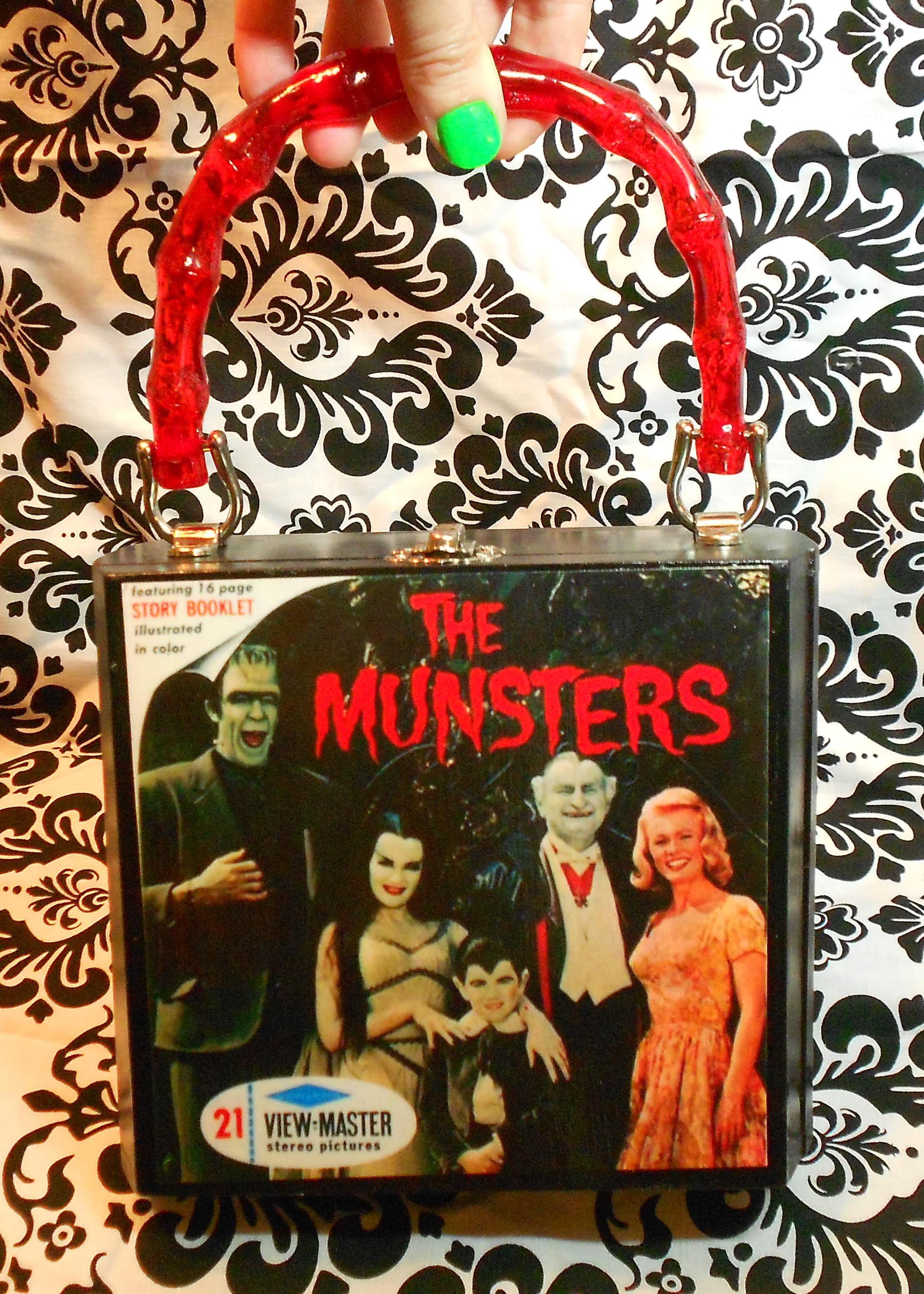 The Munsters cigar box purse