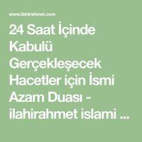 24 Saat İçinde Kabulü Gerçekleşecek Hacetler için İsmi Azam Duası #calligraphy