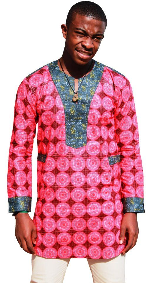 African prints fashion ~African Prints, Ankara, kitenge ... Ankara Print Men
