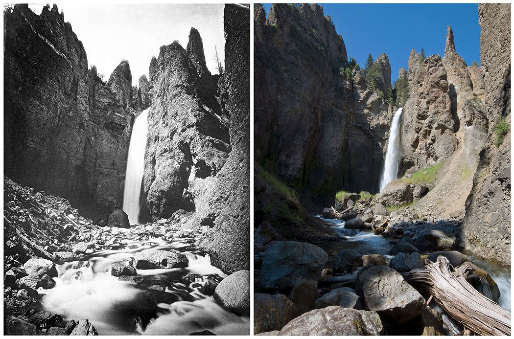 Retracing the Photos that Made the First National Park