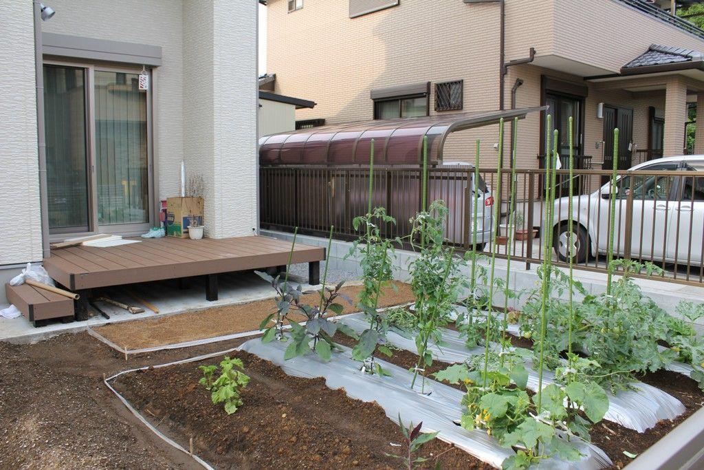 クリックすると新しいウィンドウで開きます 庭 づくり 家庭菜園 庭