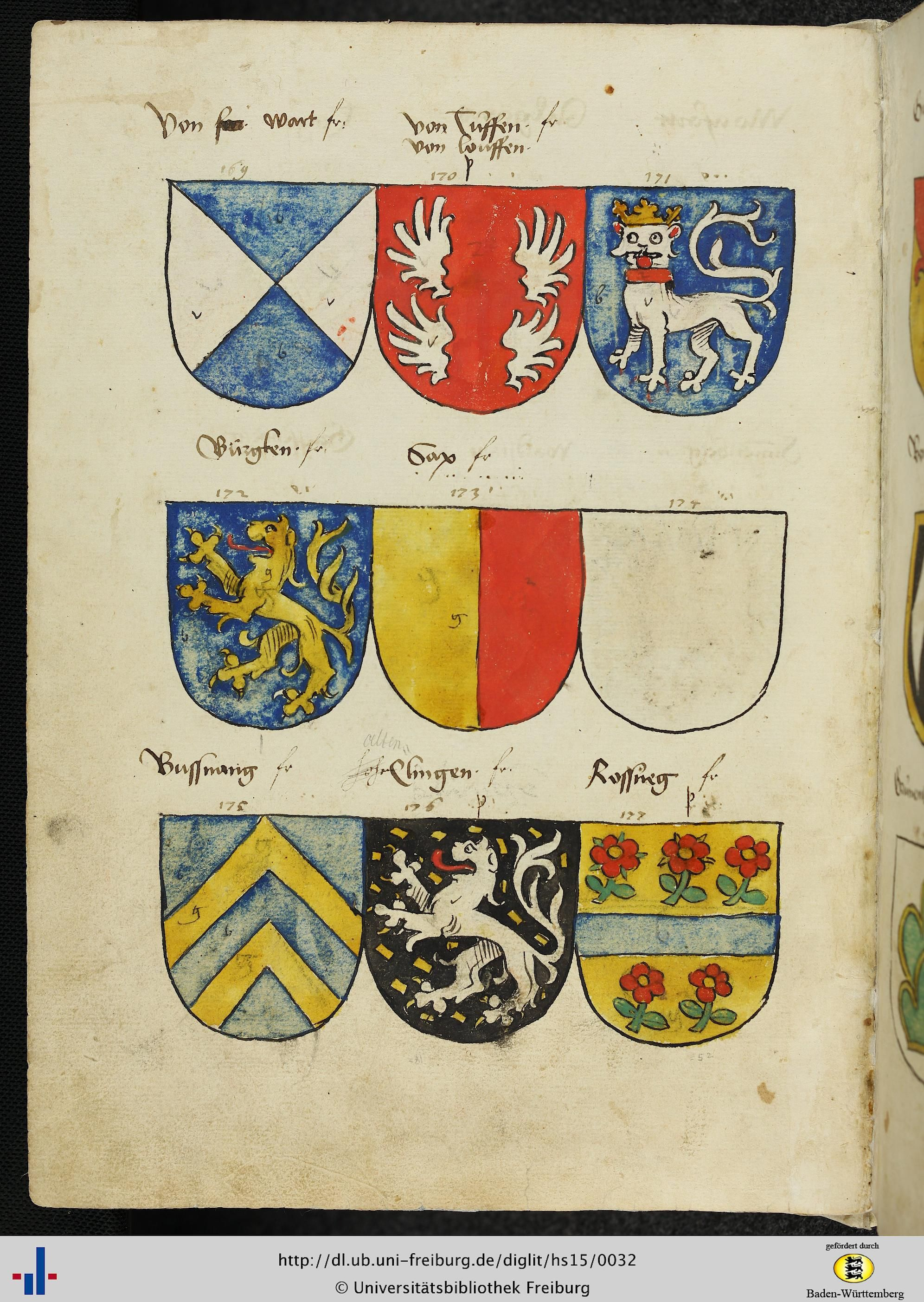 dfg viewer version 3 0 antique heraldry illumination stained