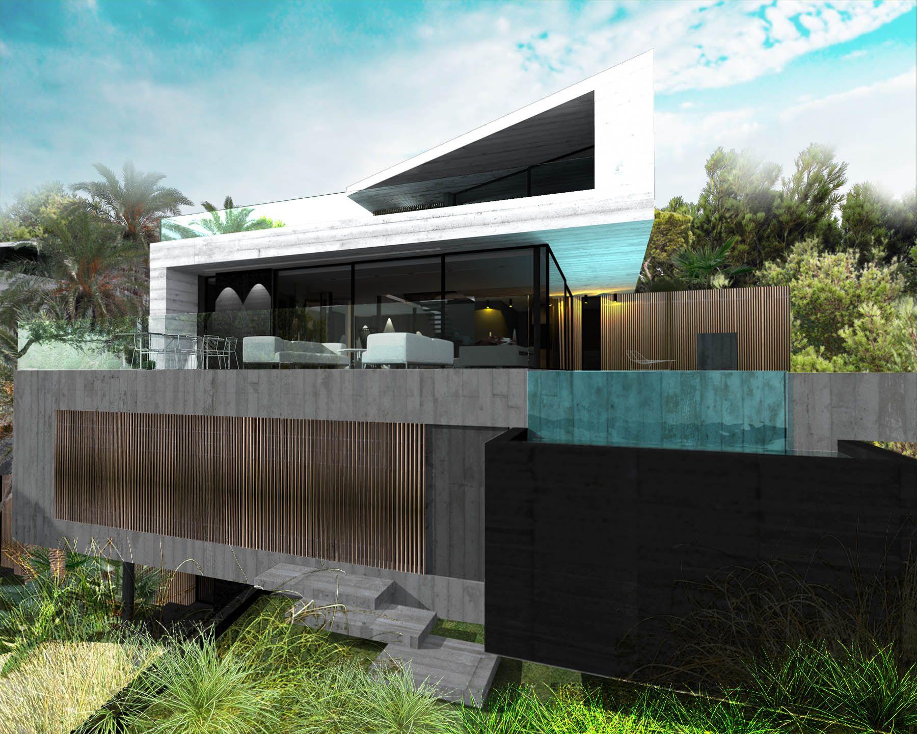 ToGu Architecture Villa Cube OUEST – COTE BLEUE Conception d une