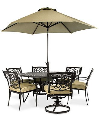 wentley patio furniture outdoor 7 piece set 4 dining chairs 2