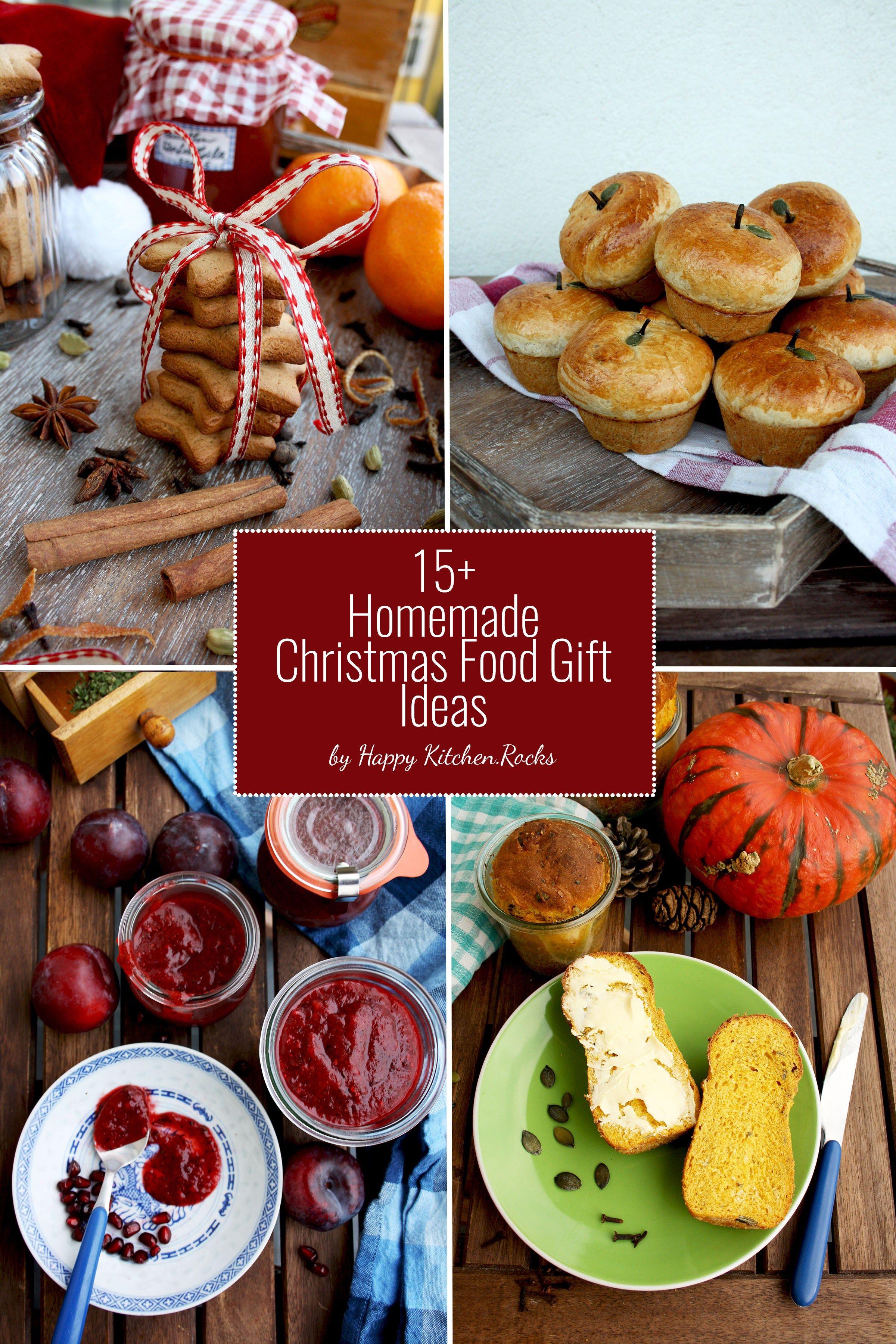 15 Homemade Christmas Food Gift Ideas
