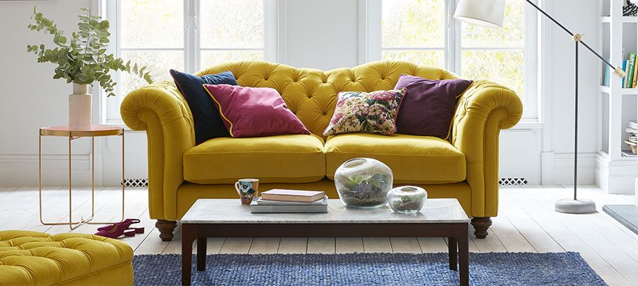 Joules Sofa and Chair Set Living rooms Pinterest