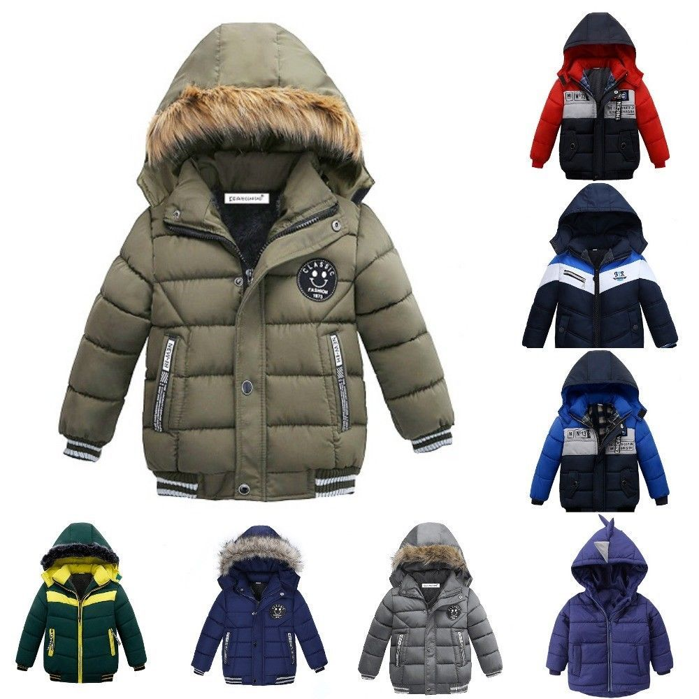 Autumn Children Coat Hooded Jackets With Zipper For Boys Kids Baby Size 2t 3t 4 Kids Coats Kids Outfits Boy Outfits [ 1000 x 1000 Pixel ]