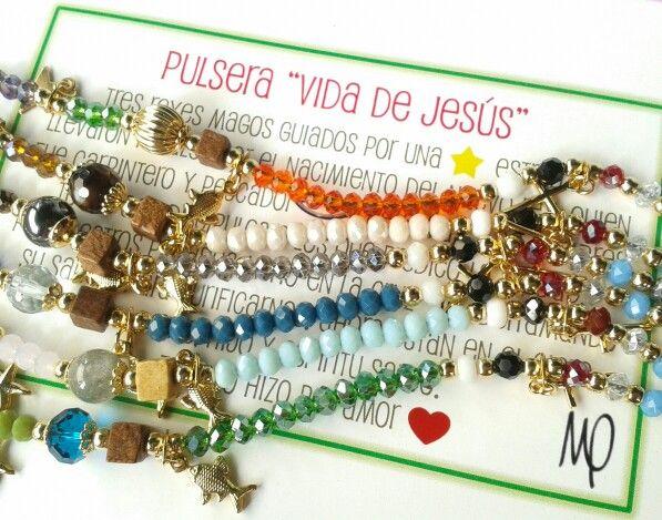 Pulsera Vida de Jesús  #amor #love #loveisallyouneed #loveisallweneed #justlove #instagram #instaphoto