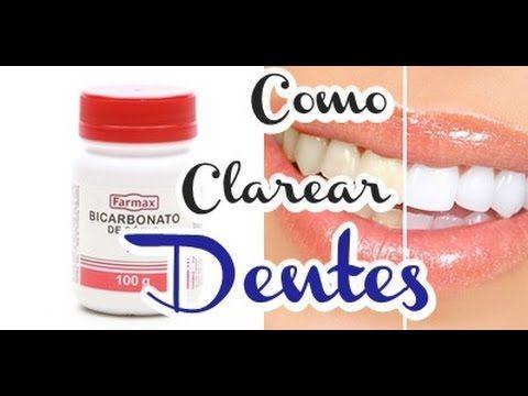 Como Clarear Os Dentes Em 2 Minutos Com Bicarbonato De Sodio