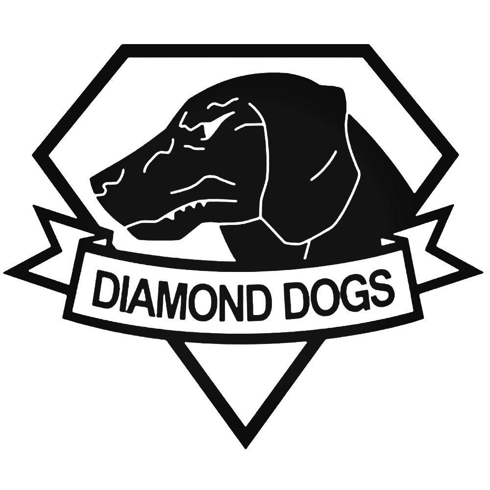 Diamond Dogs Metal Gear Solid Decal Diamond Dogs Dog Decals Metal Gear